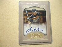 2012 TOPPS GYPSY QUEEN AUTO GABY SANCHEZ MIAMI MARLINS ON CARD MINT