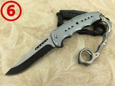 Cold Steel Knuckle Duster Pocket Knife Folding Hunting Tactical Camping Survivor