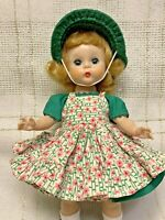 1955, Vintage Madame Alexander, Kins, Doll, ALEX, SLW, Wendy School Dress, #444
