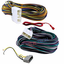BHA6504 Aftermarket Radio Replacement Amplifier Bypass Harness for Dodge/Jeep