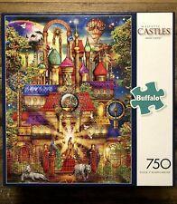 Buffalo Games Puzzle Magic Castle Ciro Marchetti White Tigers 750 Pcs 17059 EUC