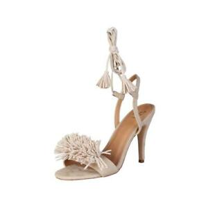 CLEARANCE SALE! Versace 19.69 Regine – Beige Sandal Stiletto Heels – 50% Off!