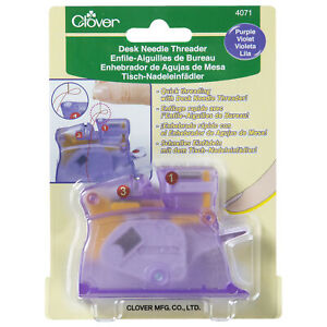 Clover Desk Needle Threader - Full Range of Colours Available!