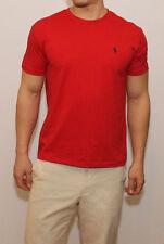 New Polo Ralph Lauren Men Crew Neck Tee Shirt Standard Fit Short Sleeve