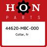 44620-MBC-000 Honda Collar, fr 44620MBC000, New Genuine OEM Part