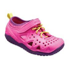 676b1be18ea422 Crocs Unisex-kids Swiftwater Play Shoe K Sneaker Neon Magenta 13 M US Little