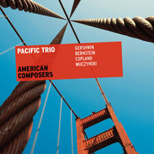 Pacific Trio : American Composers CD (2013) ***NEW***