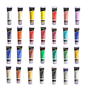Acrylic paint 100ml tube,quality bright color for Studio Artist Student Painting