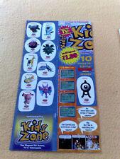 Sticker Sammelsticker Anime Stickerbogen Kids Zone Pokemon Sprüche Incognito