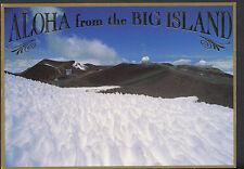 America Postcard - Hawaii - Stargazing Atop Mauna Kea    B2788