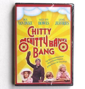 Chitty Chitty Bang Bang 1968 G family movie, DVD Dick Van Dyke flying car fs VG