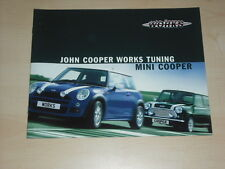 62519) Mini Cooper S JWC Tuning Prospekt 03/2003
