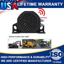 White Noise 102dB Backup Warning Alarm Beeper Reversing Horn Truck Heavy Vehicle