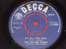 Rolling Stones:  It's All Over Now 1964   F11934  VG+  7""