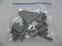Lego Mixed Parts Lot Light Gray Blocks Gears Arch Base Misc