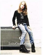 PUBLICITE ADVERTISING 105  2011   LULU CASTAGNETTE  vetements enfants