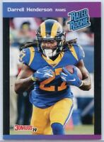 2019 Panini Instant Football Darrell Henderson RATED ROOKIE Card #21 Los Angeles