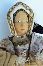Devereux Models Catherine Parr Historical Figure / Doll, Made in England