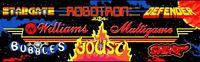 Williams Multicade Arcade Marquee – 24.5″ x 7.75″