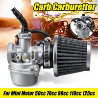 19mm 4 Tempi Carburatore & 38mm Filtro Aria Per 50CC 70CC 90CC 110CC Atv Quad