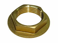 1 Inch BSP Brass Flanged Back-nut | British Standard Pipe Thread Fitting
