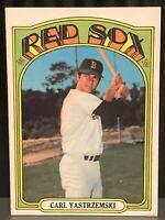1972 Topps Carl Yastrzemski baseball card Boston Red Sox Vg/Ex #37 MLB HOF Yaz