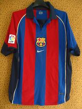 Maillot Barcelone Football Jersey Fc Barcelona 2001 Nike Vintage - S
