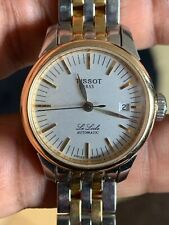 Tissot Le Locle Automatic Silver Dial Two-tone Ladies Watch 134/234