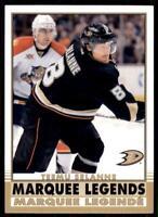 2020-21 UD O-Pee-Chee Retro Marquee Legends #545 Teemu Selanne - Anaheim Ducks
