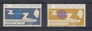 Îles Falkland 149/50 Uit Fernmeldeunion ( MNH