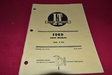 Ford 8000 Tractor I&T Shop Manual SMPA