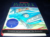 Harry Potter and the chamber of secrets by J. K. Rowling hardback 3rd print run