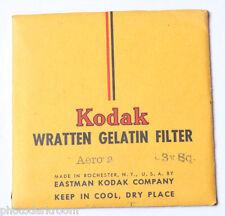 "Kodak Aero 2 Wratten Gelatin Filter - 76mm x 76mm 3x3"" Square - NEW Old Stock"