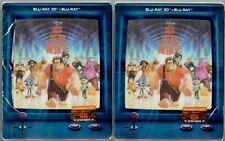 WRECK-IT RALPH STEELBOOK - BLUFANS FULLSLIP - #956/2000 & #1030/2000 - 3D - PICK