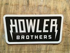 Howler Brothers Black Lighting Bolt Sticker