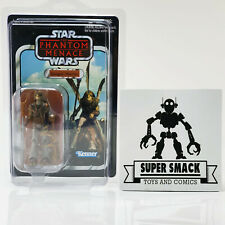 New listing Star Wars Vintage Collection Gungan Warrior Vc74 Hasbro Unpunched Display Case