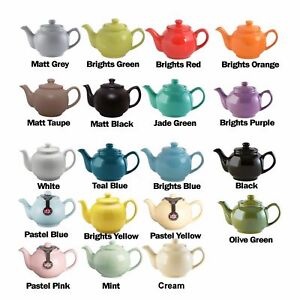 Price & Kensington 2, 6,10 Cup Ceramic Traditional Tea Serving Teapot Coffee Pot