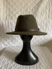 FAUSTMANN 100% Wool Fedora Hat Size 58