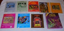 Dungeons & DragonsBASIC Set TSR 1011 1981 Missing Dice But Includes Extras