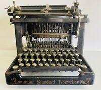 ANTIQUE RARE REMINGTON STANDARD NO. 7 UPSTRIKE TYPEWRITER