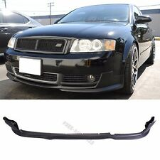 Fit for 02-05 Audi A4 Front Bumper Lip PU Material