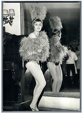 Jacqueline Rayet danseuse étoile de l'Opéra Comique de Paris Vintage silver
