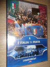 DVD N° 4 MONDIALI 2006 CAMPIONI DEL MONDO ITALIA L´ITALIA IN FESTA