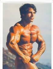 FRANCO COLUMBU Mr Olympia 1976+1981 Bodybuilding Muscle Color Photo