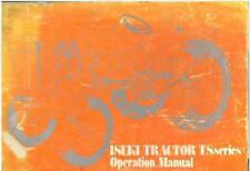 ISEKI TRACTOR TS1610 TS1910 TS2210 TS2510 TS2810 TS3510 OPERATORS MANUAL