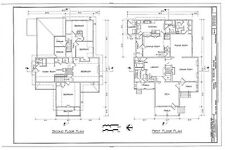 Fairy Tale Victorian Farmhouse, architectural drawings, gables, balcony, dormers