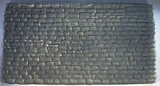 """STONE WALL CUT BLOCK 14"""" X 7 1/2"""" O or G SCALE THICK ATHERTON SCENICS (#6141)"""