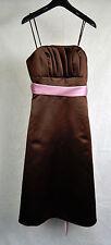 WTOO By Watters & Watters Brown Lanvander Purple Bridesmaid Prom Dress 2 NWT