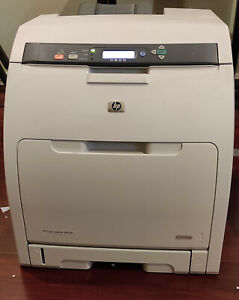 HP Colour Laserjet 3800DN network duplex printer with spare toner cartridges