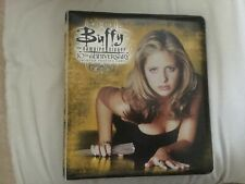 Buffy  10th Anniversary Inkworks Binder & Full Set Trading Cards